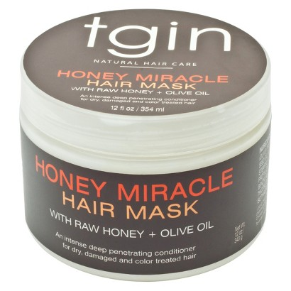 tgin Honey Miracle Hair Mask Deep Conditioner - 12 oz