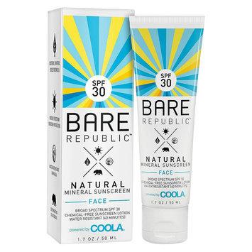 Bare Republic Mineral Face Sunscreen Lotion SPF 30 - 1.7oz