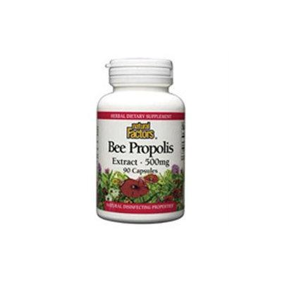 Natural Factors Bee Propolis Extract - 500 mg - 90 Capsules