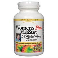 Natural Factors Women's Plus MultiStart - 90 Tablets
