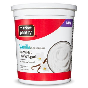 Market Pantry Low Fat Vanilla Yogurt 32 oz