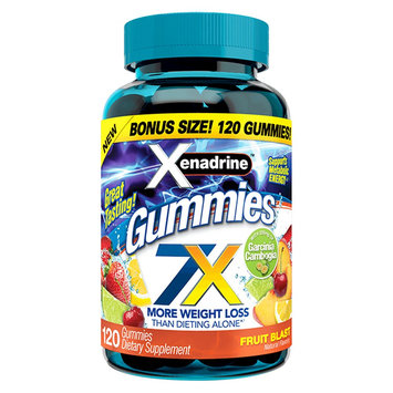 Xenadrine 7x More Weight Loss Gummies - 120 Count