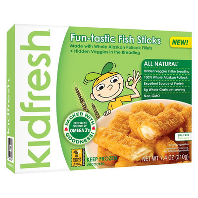 Kidfresh Fabulous Fish Sticks 8oz