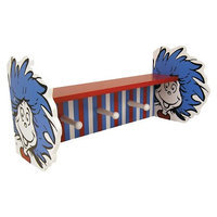 Trend Lab Dr. Seuss Thing 1 and Thing 2 Shelf with Peg