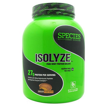 Species Nutrition Isolyze Chocolate Peanut Butter - 44 Servings