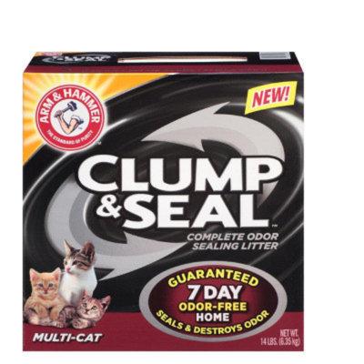 Arm & HammerA Clump & Seal Multi-Cat Litter