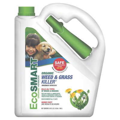 Insecticide: EcoSMART Organic Weed & Grass Killer Spray