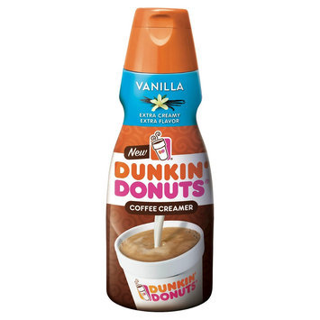 White Wave/horizon Dunkin' Donuts Vanilla Coffee Creamer 32 oz