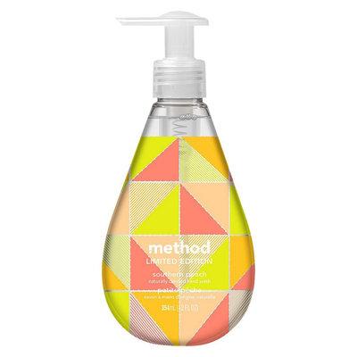 method gel hand wash southern peach 12oz
