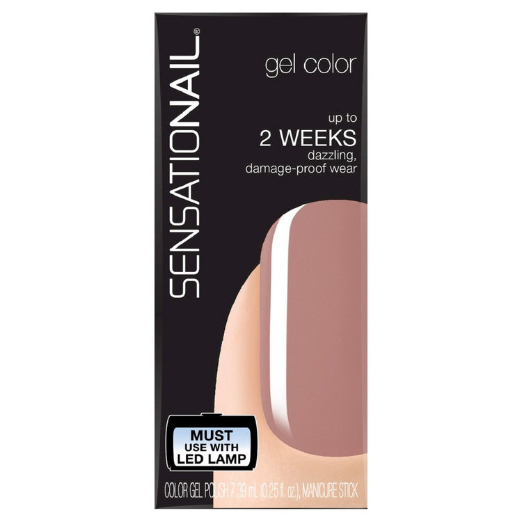 Sensationail 25floz Gel Nail Color 73000 Macchiato