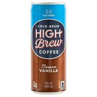 Armadillo Coffee Company, Inc. High Brew Coffee Mexican Vanilla 8oz
