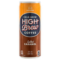 Armadillo Coffee Company, Inc. High Brew Coffee Salted Caramel 8oz