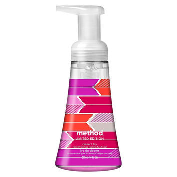 method foaming hand wash desert lily
