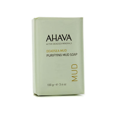 Ahava - Deadsea Mud Purifying Salt Soap 100g/3.4oz