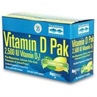 Vitamin D Pak, Lemon Lime Flavor Powder, 30 Packets, Trace Minerals Research