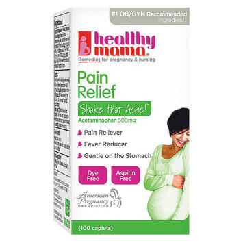 Healthy Mama Pain Relief and Fever Reducer Caplets - 100 Count