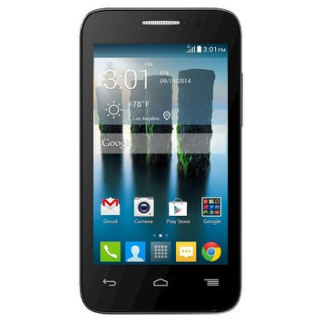 T-mobile Prepaid - Alcatel Onetouch Evolve 2 No-contract Cell Phone - Black