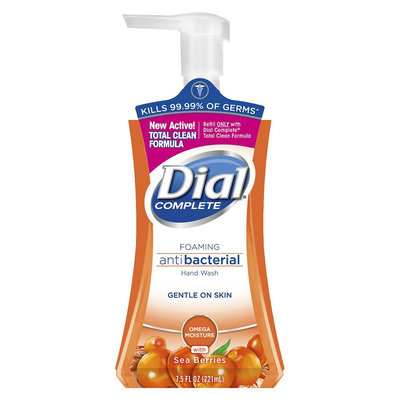 Dial Omega Moisture Complete Foaming Hand Wash- 7.5oz