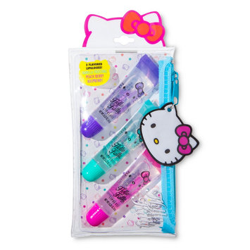 Hello Kitty Lip Gloss 3pc with Pouch