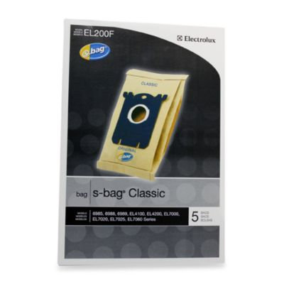 Electrolux s-Bag Classic in 5 Pack