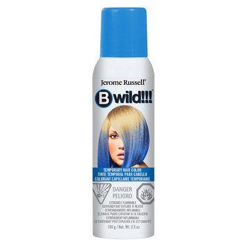 Jerome Russell Bwild Temporary Hair Color Spray Bengal Blue - 3.5oz