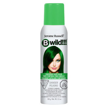 Jerome Russell Bwild Temporary Hair Color Spray Jaguar Green - 3.5oz