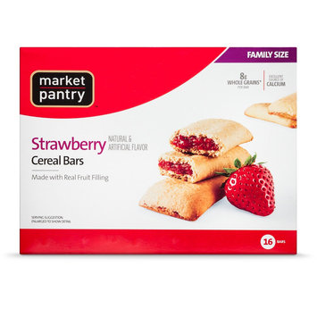 20.8 Ounce Market Pantry Strawberry Cereal Bars