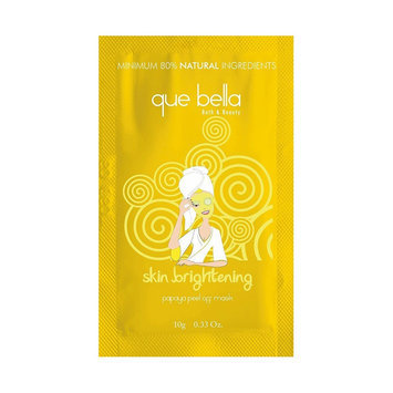 Que Bella Papaya Skin Brightening Peel-Off Mask (NEW)