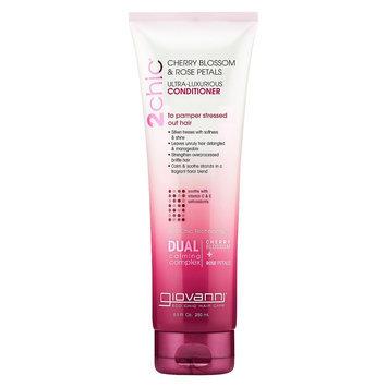 Giovanni 2chic Cherry Blossom & Rose Petals Ultra-Luxurious Conditioner - 8.5 oz