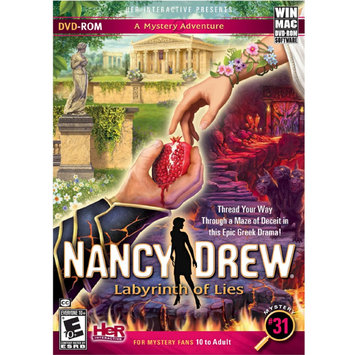 Her Interactive Nancy Drew: Labyrinth of Lies (PC Games)