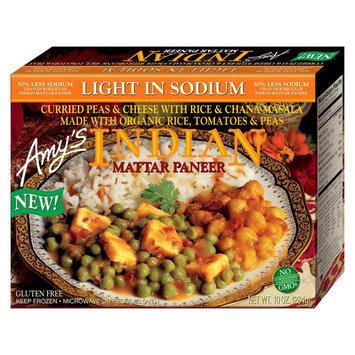 Amy's Kitchen Amys Light in Sodium Indian Mattar Paneer 10oz