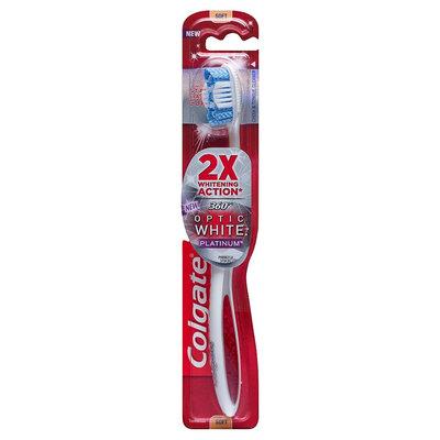 Colgate® 360°® OPTIC WHITE® PLATINUM™ Toothbrush Soft