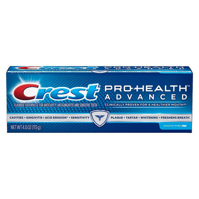 Crest Pro Health Crest Pro-Health Advanced Soothing Smooth Mint Toothpaste