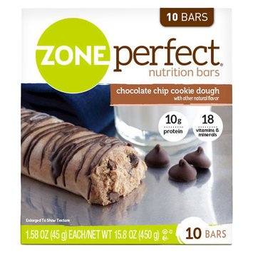ZonePerfect Cookie Dough Nutrition Bars - 10 Count