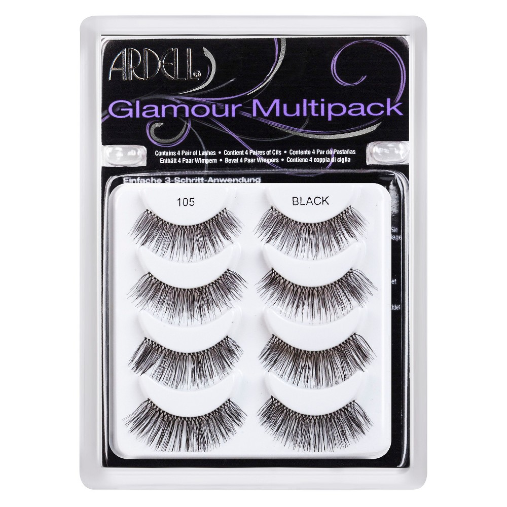 Ardell Natural Eyelashes - Black 4 pair
