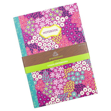 Clementine Paper Notebook Greenroom 5.75