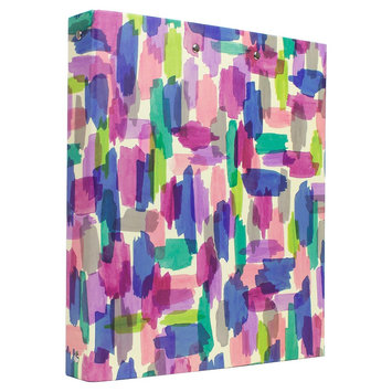 Clementine Paper Ring Binder Multi-colored Greenroom