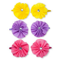 Goody Girls Waffle Flower Contour Clips - 2 Count