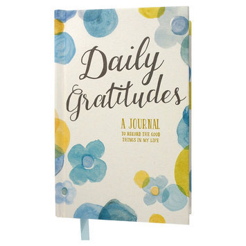 Compendium Green Inspired Daily Gratitude Journal, Multi-Colored