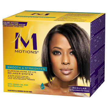 Motions Smooth & Straighten Silkening Shine No Lye Relaxer System Regular
