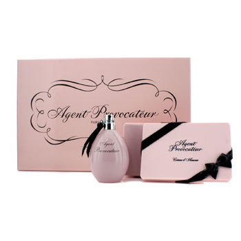 Agent Provocateur Coffret: Eau De Parfum Spray 50ml/1.7oz + Body Cream 150ml/4.76oz - 2pcs