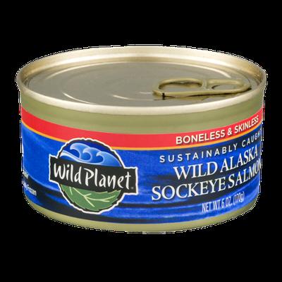 Wild Planet Wild Alaska Sockeye Salmon Boneless & Skinless