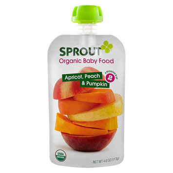 Sprout Foods Sprout Stage 2 Apricot, Peach & Pumpkin