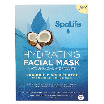 My Spa Life SpaLife Hydrating Facial Mask - 3 pack