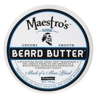Maestro's Classic Beard Butter Mark of a Man Blend - 6 oz