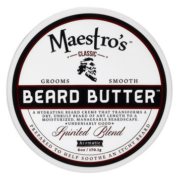 Maestro's Classic Beard Butter Spirited Blend - 6 oz