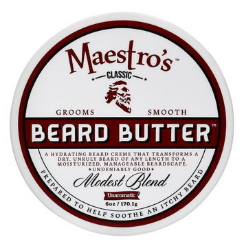 Maestro's Classic Beard Butter Modest Blend - 6 oz