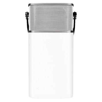 Latte Communications DeLite LED Lantern Bluetooth Speaker - White