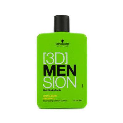 Schwarzkopf [3D] Mension Hair & Body Shampoo 250ml/8.4oz