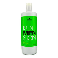 Schwarzkopf [3D] Mension Hair & Body Shampoo 1000ml/33.8oz